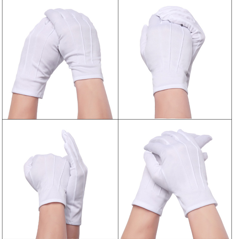 Tools The Cheapest Price Feorlo White Gloves Full Finger Men Women Waiters/drivers/jewelry/workers Mittens Sweat Absorption Gloves Hands Protector As Effectively As A Fairy Does