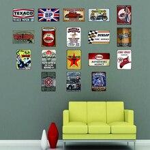 Motor Oil Spark Plugs Plaque Metal Vintage Tin Sign Wall Bar Pub Restaurant  Garage Home Art Decor Iron Painting A-3391