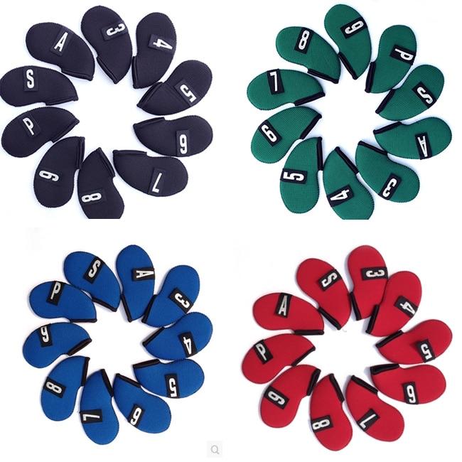 Golfo baro rinkinys golfo rutulinių strypų perukai dangtelio komplektas geležies rinkiniai 9iron apsauginis dėklas