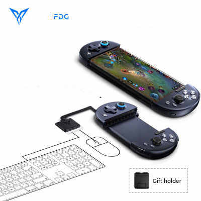 Flydigi Wee 2 pubg mobile game controller mobile telescopic Bluetooth  gamepad keyboard/mouse converter Android/IOS joystick