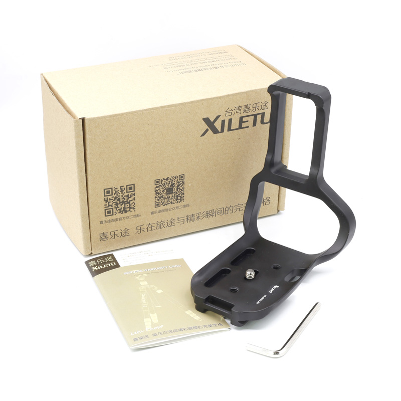 XILETU LB-D500LBG L Ball Head Plate Quick Release Plate and Ball Head Mount 1/4 3/8 inch interface Arca Standard For Nikon D500 50pcs lot wire hanger fastener hanging photo picture frame quick easy clutch release nickel plate movable head ceiling