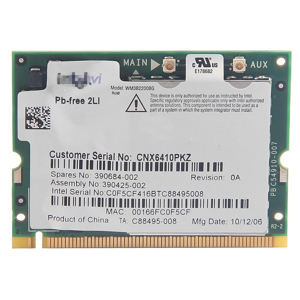 Asus G74sx Bluetooth Half Mini Pci E Card For Atheros Aw Nb037h What - Notebook wlan wireless wifi mini pci wlan card for intel 2200 bg 802 11b