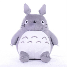 20-45cm Tonari no Totoro Plush Toys Cute Wedding Press Kawaii Dolls Children Birthday Girl Kids Toy Boys Big Size Lovely Pillow