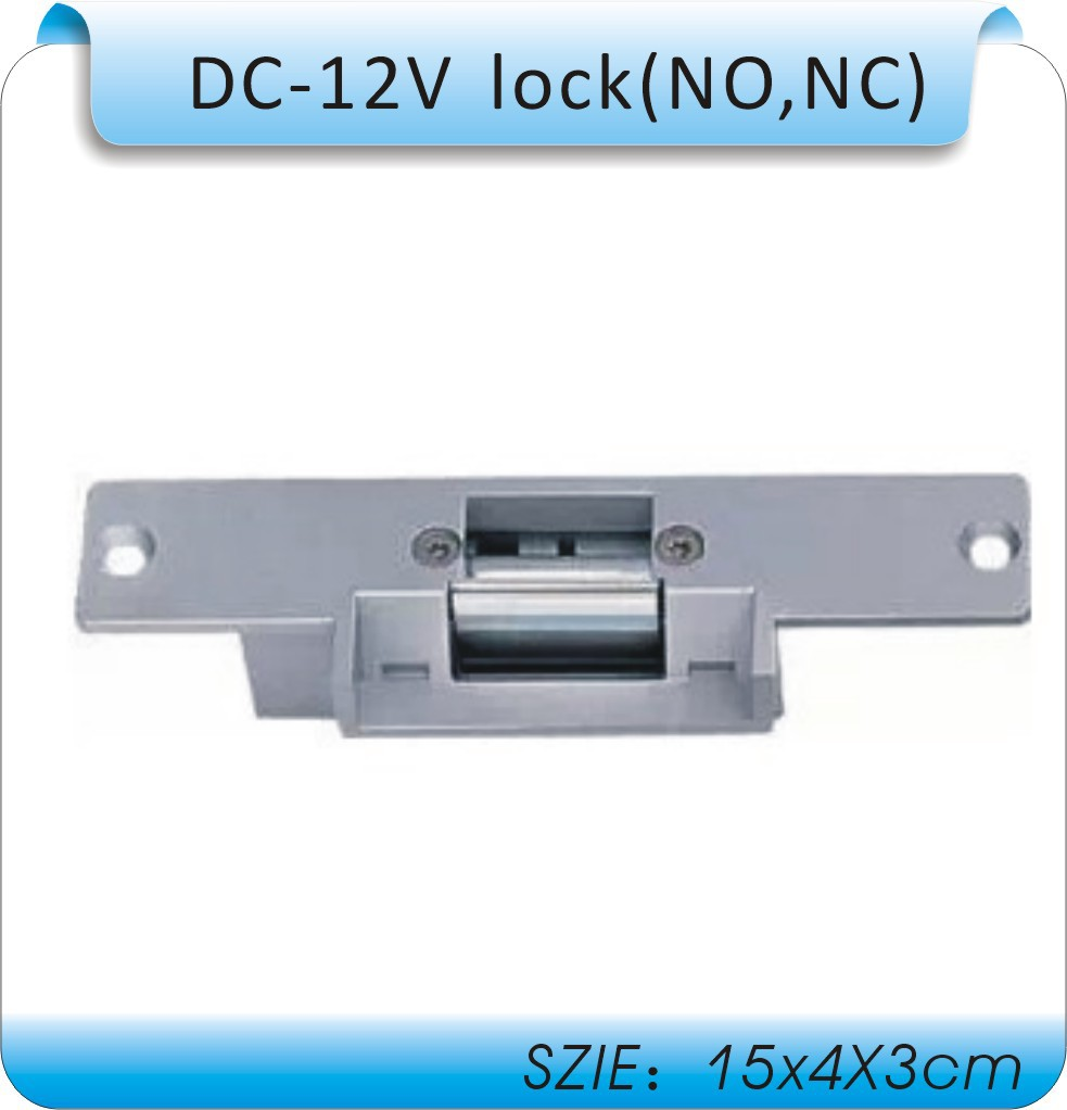 Free shipping High quality DC12V cathode lock/electric lock/wooden door/door electric/electronic lock /NO, NC cathode lock free shipping door stopper door holders for sale high suction