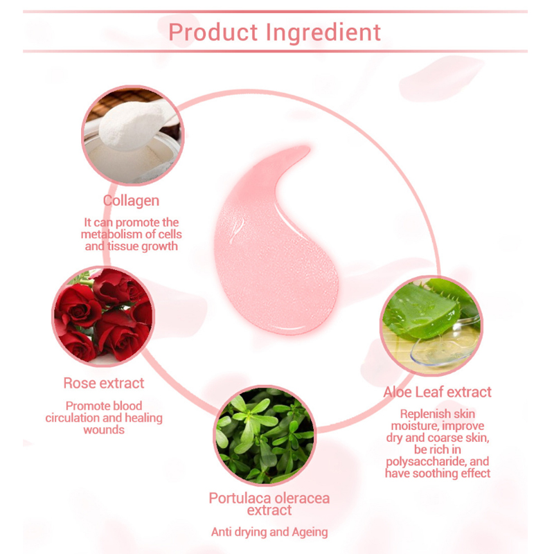 60Pcs/Box Plant Extract Moisturizing Eye Mask Eye Care Black Eye Patch Aging Anti Wrinkles Aquagel Collagen Eye Mask Health 12