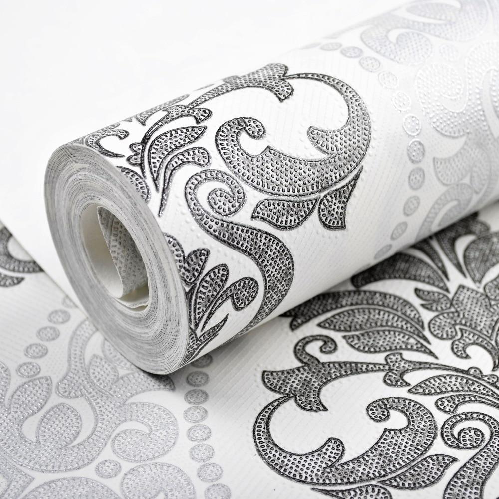 Online get cheap victorian wallpaper for Cheap black wallpaper