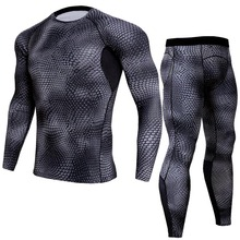 New Quick-drying Suit Men's Fitness Clothing Breathable and Quick-drying Clothes Running Long-sleeved Tights west biking autumn women cycling clothes quick drying outdoor long sleeve clothing spring and riding fitness sports coat jerseys
