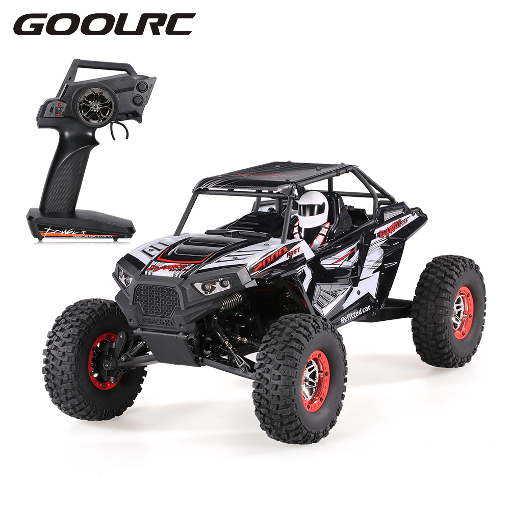 Remote Control Off-road RC Car Vehicles SUV 10428-B2 1:10 2.4G 4WD Electric Rock Crawler Buggy Desert Baja RC Cars RTR Boys Toys hongnor ofna x3e rtr 1 8 scale rc dune buggy cars electric off road w tenshock motor free shipping