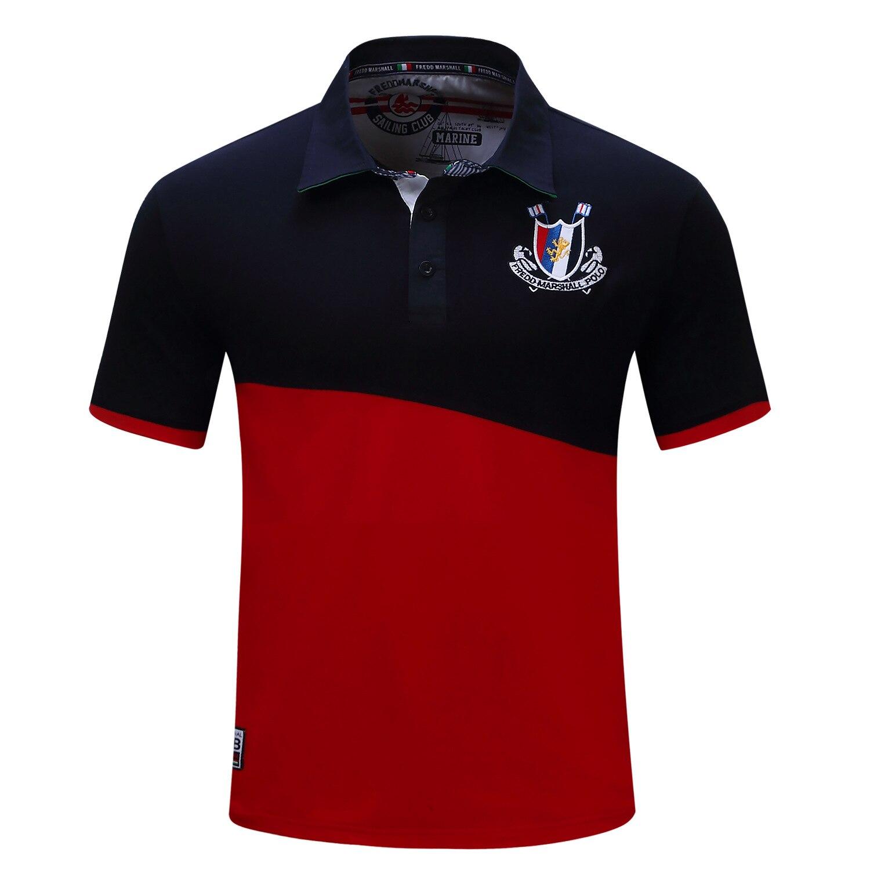 High Quality Mens Cotton Short Sleeve   Polo   Shirt Men Fashion Casual Spring Summer Shirt Men's Lapel Shirt Stitching M,L,XL,XXL