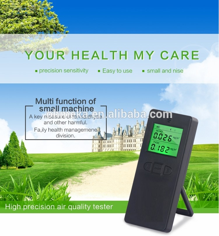 Free shipping Factory low price Smart Air Quality Monitor,TVOC Monitor low price free shipping 100