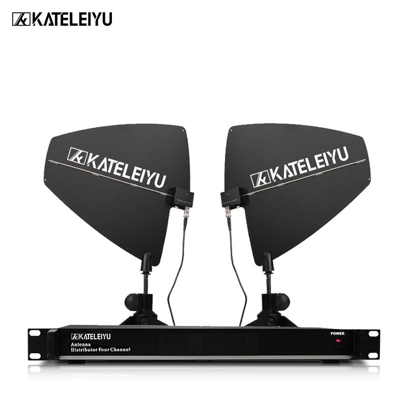 Stage Performance Microphone Signal Wireless Amplifier UHF Section Wireless Microphone Amplifier Antenna Enhancement