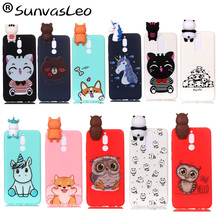 For Huawei Mate 10 Lite Cases 3D Silicone Case Cartoon Soft Cell Phone Cover Fundas Coque