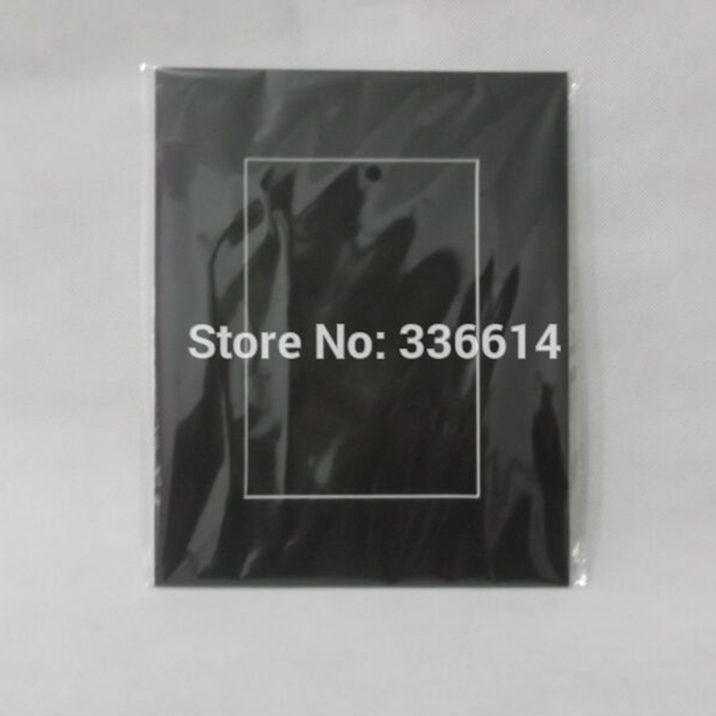 Us 198 Acid Free 8x10 Photo Mats Black Cardboard Photo Easel Frame For 5x7 Wedding Party Decor Picture Frame Passepartout Frame 5pcs In Frame