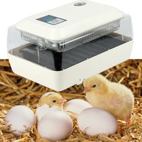 Automatic Breeding Machine 24 Eggs Incubator with Digital Display Temperature Alarm for Egg Outbreak of Chickens Quails Poultry