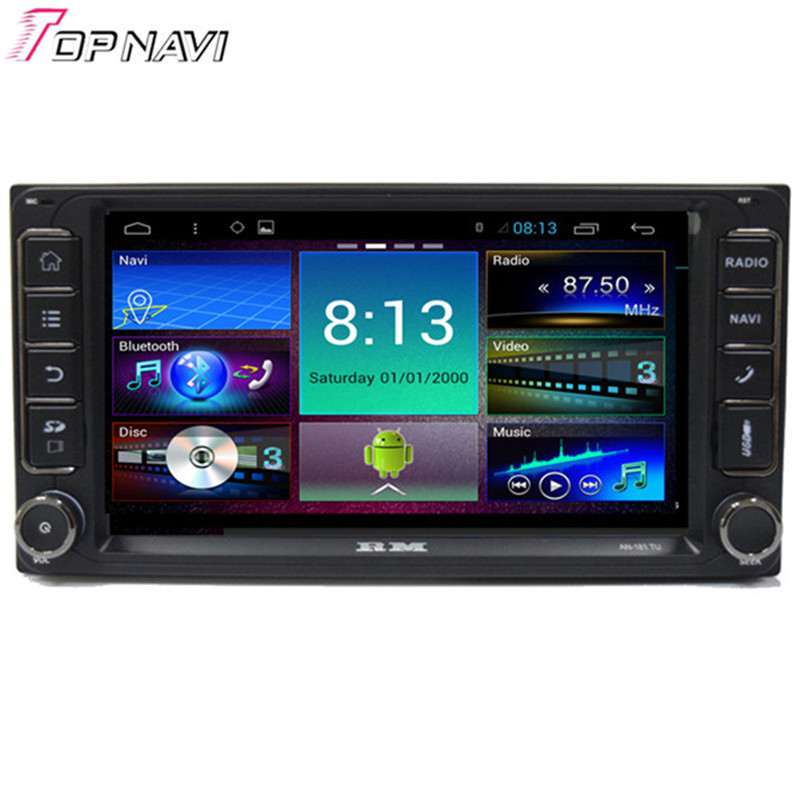Quad Core Android 4 4 Car Stereo For Toyota Corolla With 16GB Flash Mirror Link Wifi