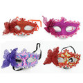 Butterfly half face mask Party decoration dance belly veil mysterious princess dance performances props