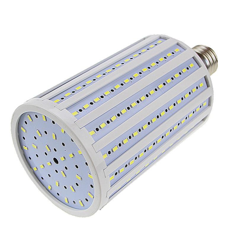 High Power 80W LED Lamp 5730 5630 SMD E40 216 LEDs Corn Bulb Pendant Lighting AC 110V 127V 220V 240V Chandelier Ceiling Light