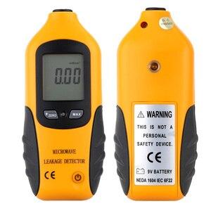 Digital LCD Microwave Leakage Radiation Detector Meter Leaking Tester 0-9.99mW/cm2 Home Digital Meter
