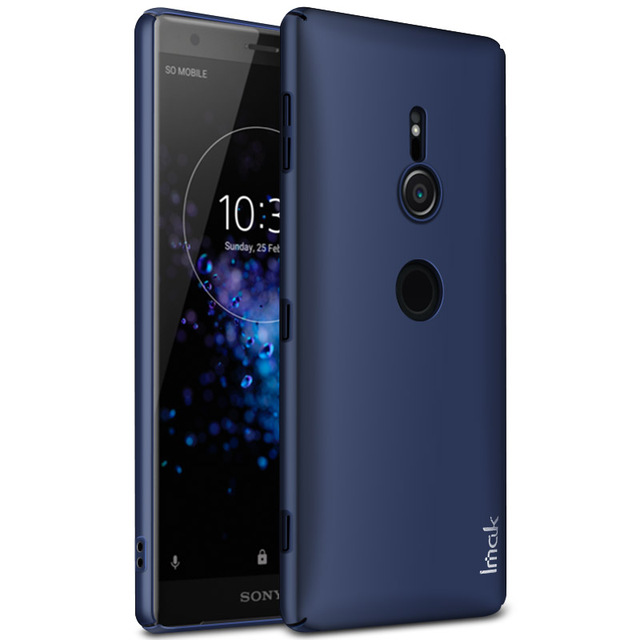 best loved 8d0b0 3f263 US $4.75 5% OFF|Jazz Case for Sony Xperia XZ2 Back cover IMAK Luxury Back  Cover for Funda Sony XZ2 Compact Case Etui Sony XZ3 XZ 2 Hard Case 5.7-in  ...
