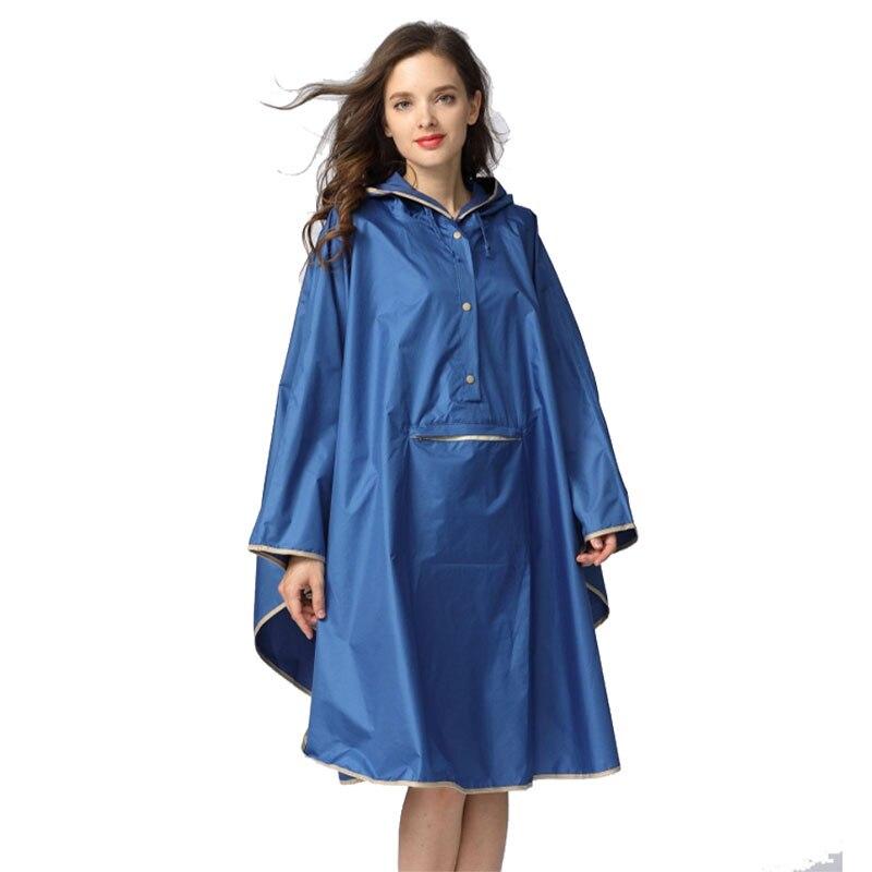 Image 4 - 1PC good quality waterproof emergency rain coat women windbreaker hooded men rain capes ponchosRaincoats   -