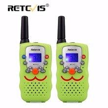 2 шт. дети walkie talkie радио дети retevis rt32 0.5 Вт 8/22ch портативный беспроводной радио подарок два пути радио коммуникатор a9113
