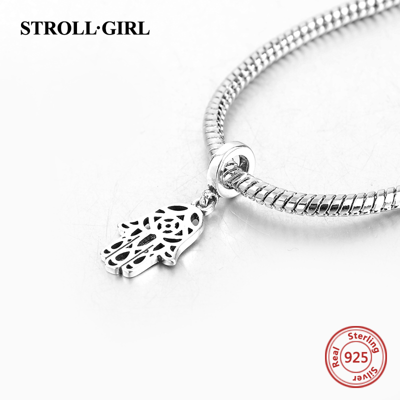 New arrival Silver 925 Original Charms Dangle Hanging Pendant bead Fits pandora European beads bracelets jewelry free shipping