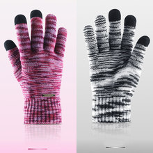 1 Pair  Winter Warm Touch Screen Gloves for Women Men Brushed Lined Couple Gloves mens fall fashion  gloves winter