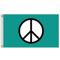 Новинка, 1 шт., 90x150 см, флаг мира, знак мира, символ, баннер, 3x5 футов, внутренние наружные декоративные флаги