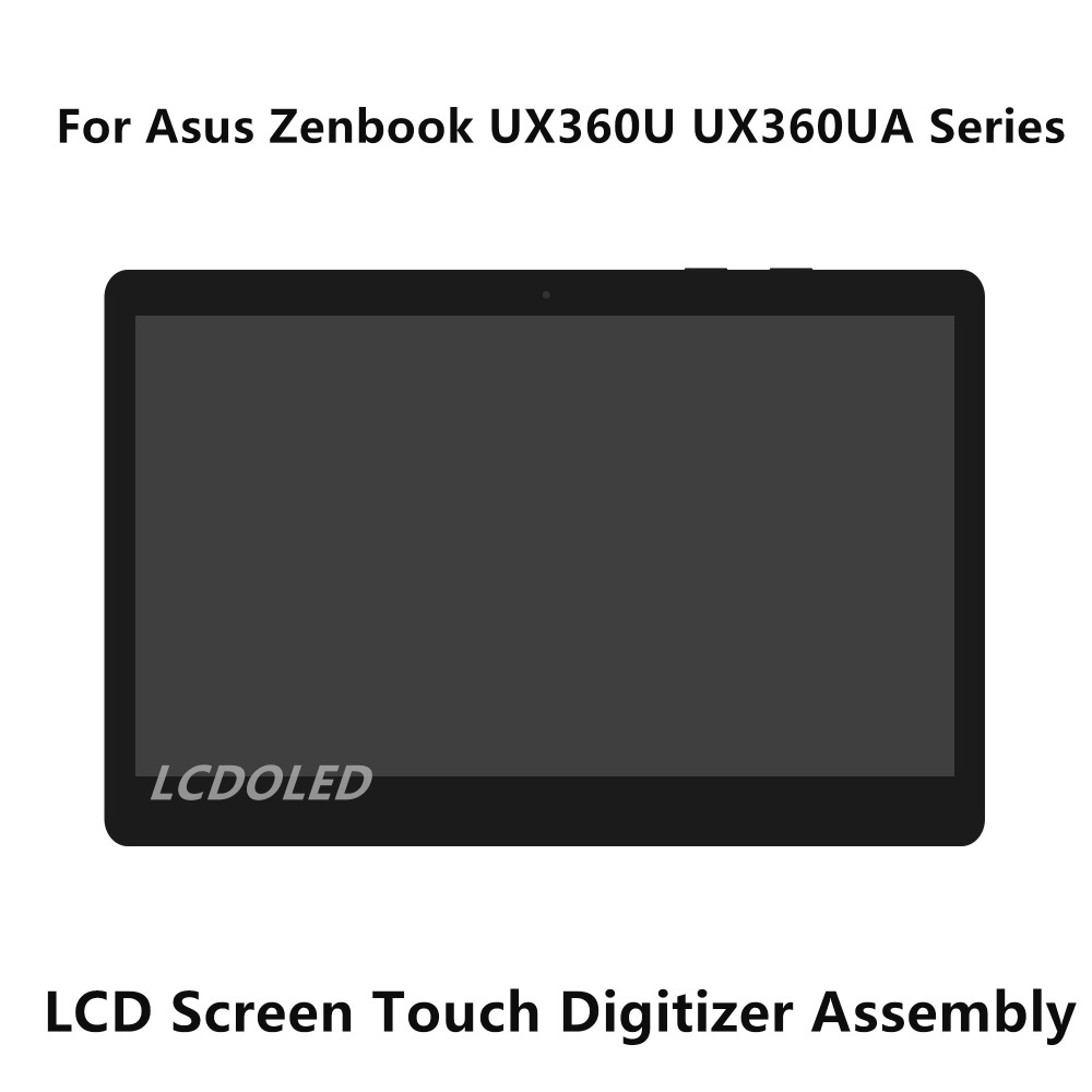 цена на 13.3'' For Asus Zenbook UX360U UX360UA Series LCD Screen Display Panel Touch Digitizer Glass Assembly 4K UHD 3200*1800 1920*1080