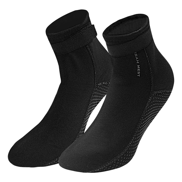 bb7edb703c53 3.5mm Neoprene Diving Socks Boots Water Shoes Beach Booties Snorkeling  Diving Surfing Boots for Men