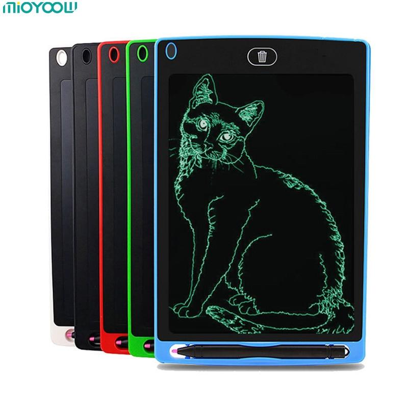 8,5 ''portátil inteligente LCD escritura tableta Bloc de notas electrónico dibujo gráficos junta con lápiz óptico con batería regalo para los niños