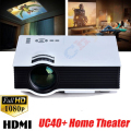 UC40 Mini PC Portable LED Projector 3D Home Theater Multimedia Beamer Proyectors LED Full HD 1080P HDMI USB/AV/SD UC40