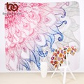 BeddingOutlet Elegant Tapestry Pink Blue Floral Decorative Wall Tapestries Bohemian Dreamlike Wall Carpet 145x145cm