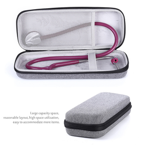 Image 2 - New Hard Stethoscope Cover Carrying Case for 3M Littmann Classic III/Littman Cardiology 4/MDF/Omron Stethoscope and LED Penlight