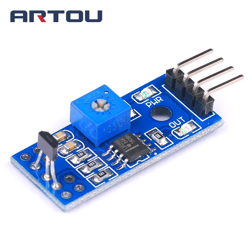 10pcs Speed Measurement Hall Sensor Module Switch Motor Power Opamp Servo Amplifier Tachometer Control Diy In Sensors From Electronic Components Supplies On