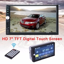 7 Bluetooth Touch Screen Car MP4 MP5 2 Din Auto FM Radio Autoradio SD MM Card