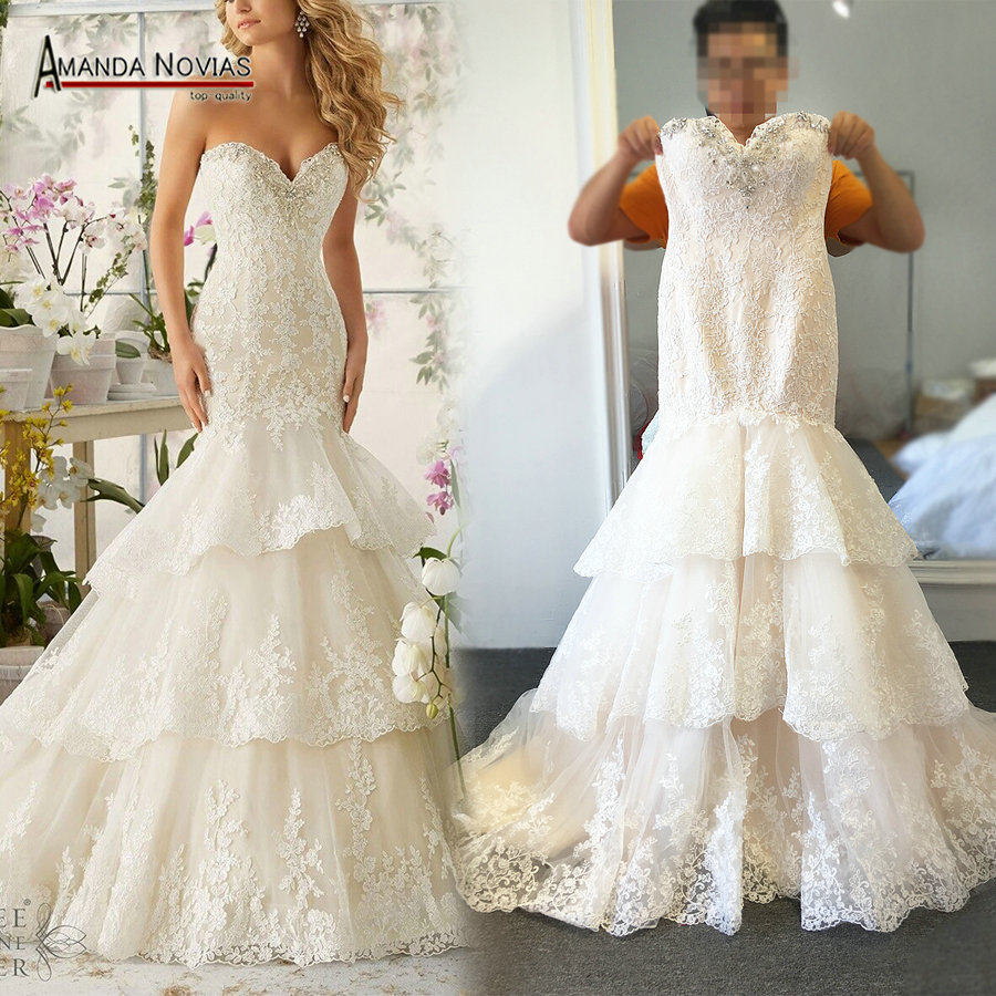 Wedding Gown Wholesalers: Aliexpress.com : Buy High Quality New Fashion Lace Mermaid