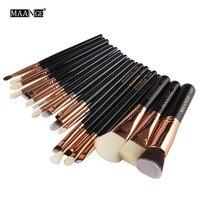 2016 New Style 20 Pcs Professional Set Make Up Tools Kit Powder Blending Eye Shadow Brushes