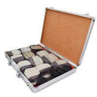 20pcs/set lava Natural Energy Massage stones massage stone hot spa rock basalt stone with heater box 110 240V