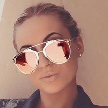 Classic Cat Eye Sunglasses in Gold