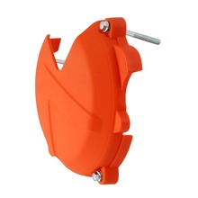 Orange Clutch Case Cover Guard Protector For KTM 250 300 EXC SX XC XC-W