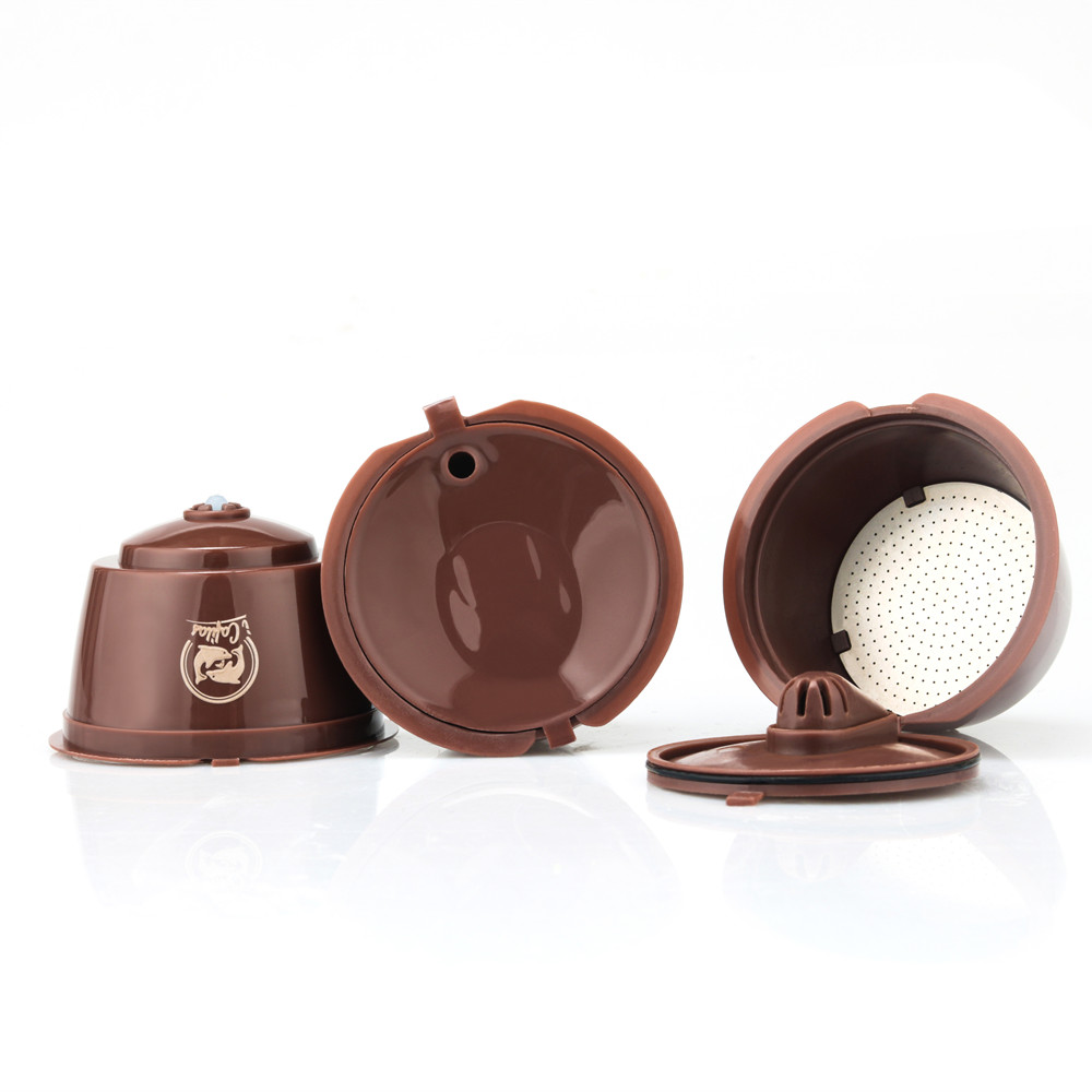 Crema Version 3rd Generation Dolce Gusto Coffee Capsule Filters Cup Refillable Reusable Coffee Dripper Tea Baskets