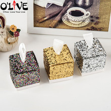 50 Pcs Gold Glitter Silver Wedding Candy Box Gift Wrap Party Favors Boxes Paper Package Sequin Baby Shower Chocolate Bling