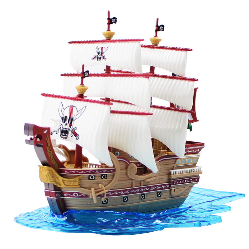 15-18cm One Piece  Boat Pirate Toy 1