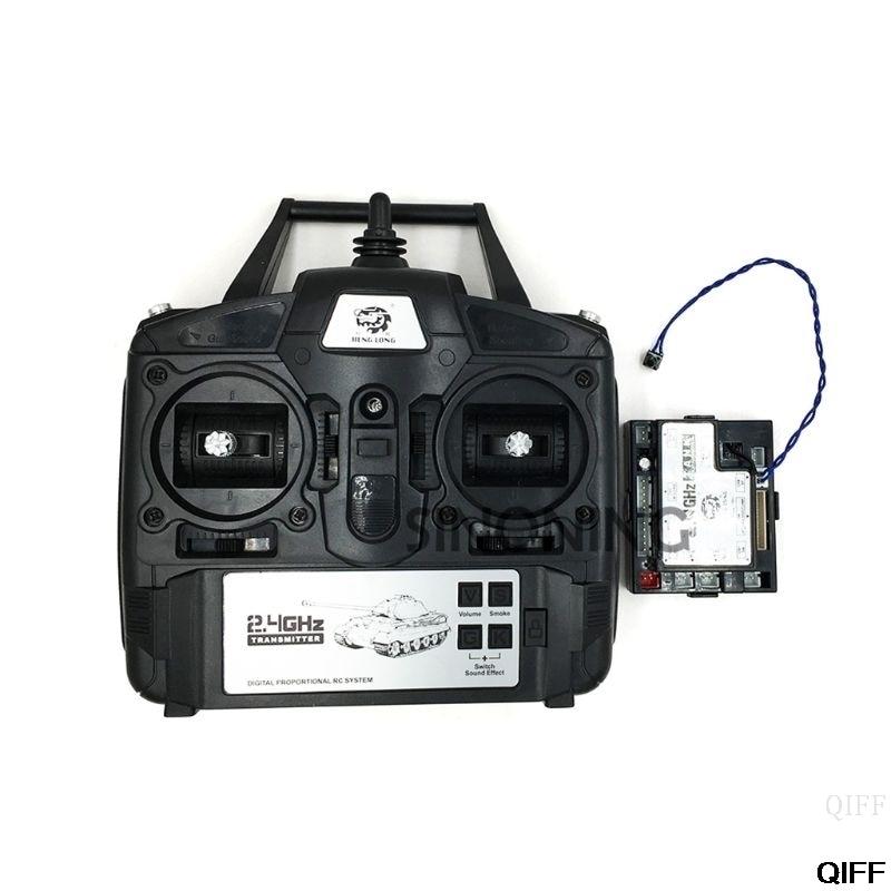 Drop Ship Wholesale 2 4GHz 5 3 Version 1 16 Controller Transmitter Remote Control Set For