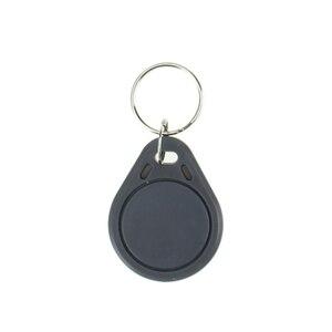 Image 5 - 100 stücke RFID keyfobs 13,56 mhz schlüsselanhänger NFC tags ISO14443A MF Klassische® 1 karat nfc access control token smart keycard sechs farben