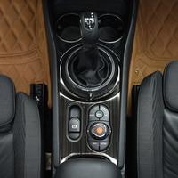 Car Gear shift panel cover Central control decoration Sticker For BMW MINI Cooper S JCW F54 Clubman Modification accessories