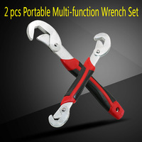 2PC Multi Function Universal Wrench Set For Nuts And Bolts Of All Shapes And Sizes