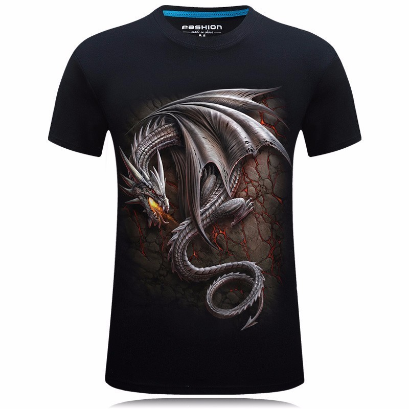 Dragon Dracarys 3D T Shirt Game Of Thrones Printing Casual Streetwear Mens Tshirts Summer Tops Cool Unisex Tees Camisa Masculina
