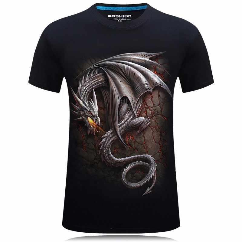 Dragon Dracarys 3D Футболка с принтом Игра престолов Повседневная Уличная Мужская футболка летние топы крутые футболки унисекс camisa masculina